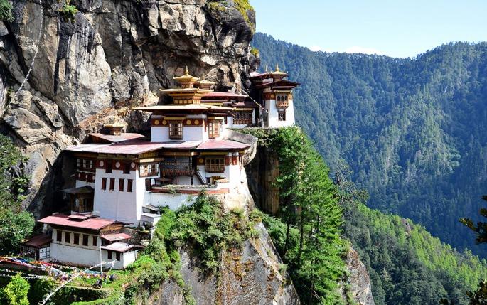 Tiger_s Nest Temple, Bhutan